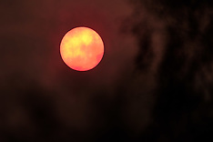 Red Hazy Sun | South Lanarkshire | 16 October 2017