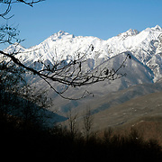Russia's Black Sea coastal city of Sochi. .The resort, perched on the foot of snow-capped mountains, is bidding to host the 2014 Winter Olympics.