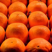 Chilean Navel Oranges at Public Market Center in Seattle, Washington