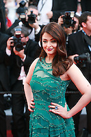 Aishwarya Rai at the gala screening for the film Carol at the 68th Cannes Film Festival, Sunday May 17th 2015, Cannes, France.