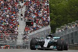 June 9, 2017 - Montreal, Canada - Motorsports: FIA Formula One World Championship 2017, Grand Prix of Canada, .#77 Valtteri Bottas (FIN, Mercedes AMG Petronas F1 Team) (Credit Image: © Hoch Zwei via ZUMA Wire)