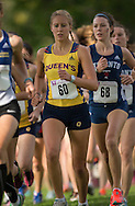 Shannen Murray of the Queen'S Gaels runs at the 2014 Western International Cross country meet in London Ontario, Saturday,  September 20, 2014.<br /> Mundo Sport Images/ Geoff Robins
