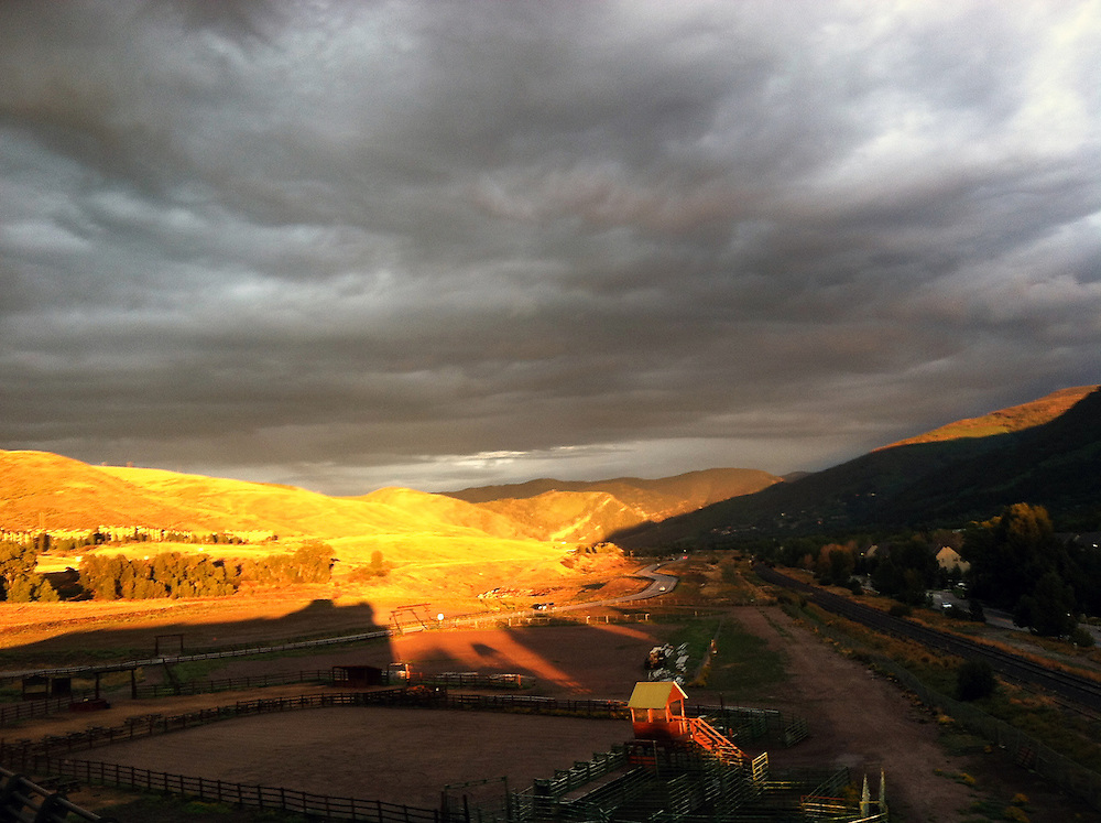 Mountain & Valley, Beaver Creek Sunset