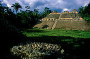 "Caracol. This ancient city  was one of most powerful in the Maya world. Caracol's 42-meter tall ""Canaa"" (""sky-house"") remains the tallest man-made structure in Belize."