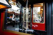Saturday June 7th 2008. Paris, France..In a cafe..Avenue de la Grande Armee - 16th Arrondissement.