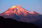MEXICO, VERACRUZ Pico de Orizaba, Mexico's highest