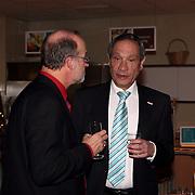 NLD/Huizen/20080102 - Nieuwjaarsreceptie 2008 van de gemeente Huizen, oud burgemeester Jos Verdier