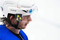 JEGLIC Ziga (SLO) during OI pre-qualifications of Group G between Slovenia men's national ice hockey team and Croatia men's national ice hockey team, on February 7, 2020 in Ice Arena Podmezakla, Jesenice, Slovenia. Photo by Peter Podobnik / Sportida