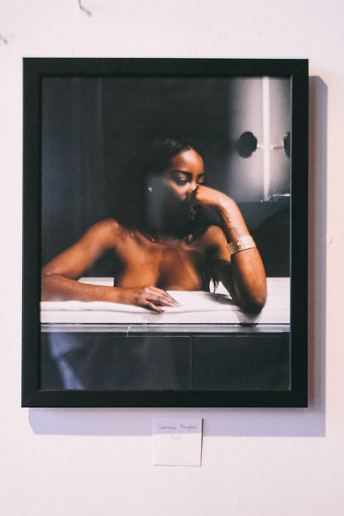 A Spencer Charles Visual Exhibit. Photography displaying women of color as works of art. Powered by First Taste ATL.