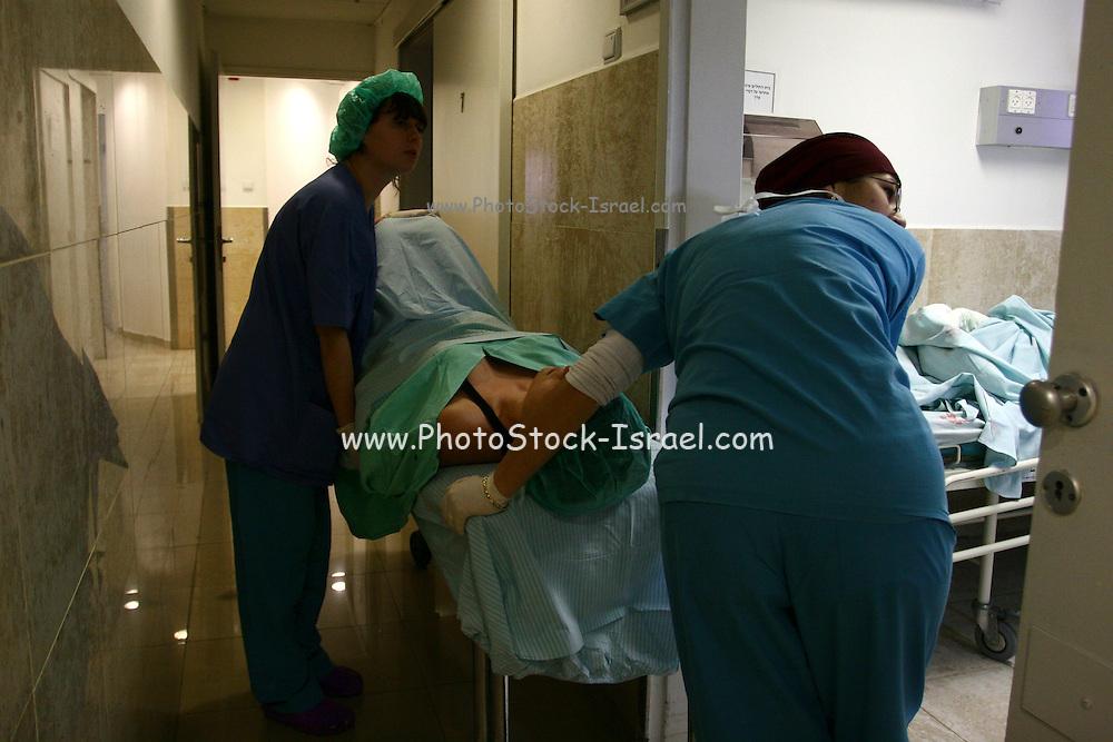 Israel, hospitalised Female patient