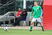 Max Murphy of Republic of Ireland (2) during the UEFA European Under 17 Championship 2018 match between Bosnia and Republic of Ireland at Stadion Bilino Polje, Zenica, Bosnia and Herzegovina on 11 May 2018. Picture by Mick Haynes.
