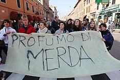 20121116 MANIFESTAZIONE STUDENTI NOVEMBRE 2012