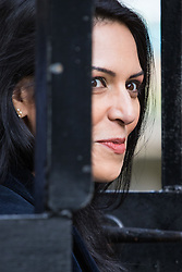 Downing Street, London, April 12th 2016. Employment Minister Priti Patel arrives at the weekly cabinet meeting. ©Paul Davey<br /> FOR LICENCING CONTACT: Paul Davey +44 (0) 7966 016 296 paul@pauldaveycreative.co.uk