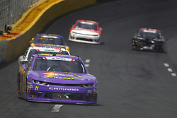 May 26, 2018 - Concord, North Carolina, United States of America - Ryan Truex (11) brings his race car down the front stretch during the Alsco 300 at Charlotte Motor Speedway in Concord, North Carolina. (Credit Image: © Chris Owens Asp Inc/ASP via ZUMA Wire)