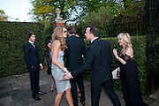 ELLE MACPHERSON; DAVID FURNISH; LULU, The Ormeley dinner in aid of the Ecology Trust and the Aspinall Foundation. Ormeley Lodge. Richmond. London. 29 April 2009