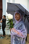 Mourners pay their last respects at the Funeral of King Bhumibol Adulyadej