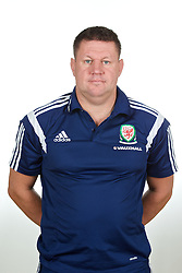 CARDIFF, WALES - Wednesday, September 24, 2014: Wales' Doctor Andy Jones. (Pic by David Rawcliffe/Propaganda)
