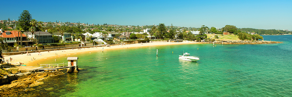 Camp Cove at Watsons Bay of Sydney in Panorama