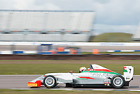 #7 Al Faisal Al  ZUBAIR (OMA)  Fortec Motorsports  Tatuus-Cosworth  BRDC British F3 Championship at Rockingham, Corby, Northamptonshire, United Kingdom. April 30 2016. World Copyright Peter Taylor/PSP.