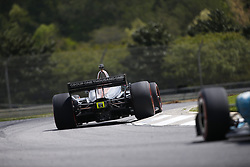 April 23, 2018 - Birmingham, Alabama, United States of America - ZACH VEACH (26) of the United Stated battles for position through the turns during the Honda Grand Prix of Alabama at Barber Motorsports Park in Birmingham, Alabama. (Credit Image: © Justin R. Noe Asp Inc/ASP via ZUMA Wire)