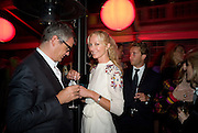 JAY JOPLING; JOELY RICHARDSON, The Summer Party. Hosted by the Serpentine Gallery and CCC Moscow. Serpentine Gallery Pavilion designed by Frank Gehry. Kensington Gdns. London. 9 September 2008.  *** Local Caption *** -DO NOT ARCHIVE-© Copyright Photograph by Dafydd Jones. 248 Clapham Rd. London SW9 0PZ. Tel 0207 820 0771. www.dafjones.com.