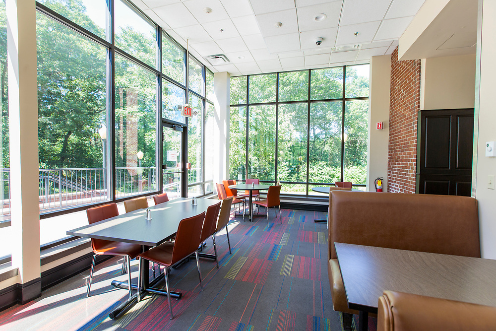 Campus Center Dining Hall, Mount Ida College, Newton, MA, 6/19/18.