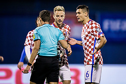 Dejan Lovren of Croatia during the football match between National teams of Croatia and Greece in First leg of Playoff Round of European Qualifiers for the FIFA World Cup Russia 2018, on November 9, 2017 in Stadion Maksimir, Zagreb, Croatia. Photo by Ziga Zupan / Sportida