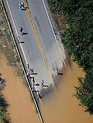 20090922  -  Atlanta, Ga : Constant rains for nearly a week saturated the metro Atlanta area bringing flood waters to residents' doors, closing businesses and claiming the lives of at least eight by Tuesday, September 22, 2009. Cobb, Carroll, Douglas, DeKalb, Forsyth, Fulton, and Gwinnett County schools were closed because of the floods and resulting treacherous road conditions while business and homes were under water.   David Tulis         dtulis@gmail.com    ©David Tulis 2009