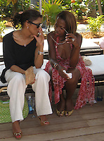 **EXCLUSIVE**.Star Jones.Cain at the Cove Hotel Opening.Kaimilla Fashion Show at the Cain pool.Paradise Island, Bahamas.Friday, May 11, 2007 .Photo By Celebrityvibe.To license this image please call (212) 410 5354; or.Email: celebrityvibe@gmail.com ;