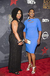 August 6, 2017 - New Jersey, U.S - DERRICA N WILSON, and NATALIE WILSON, at the Black Girls Rock 2017 red carpet. Black Girls Rock 2017 was held at the New Jersey Performing Arts Center in Newark New Jersey. (Credit Image: © Ricky Fitchett via ZUMA Wire)