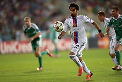 21.08.2013, Nationalstadion, Sofia, BUL, UEFA CL Play off, PFC Ludogorez Razgrad vs FC Basel, Hinspiel, im Bild Mohamed Salah (Basel) // during the UEFA Champions League, Play off first leg match between PFC Ludogorez Razgrad and FC Basel at Nationalstadium in Sofia, Bulgaria on 2013/08/21. EXPA Pictures © 2013, PhotoCredit: EXPA/ Freshfocus/ Andy Mueller<br /> <br /> ***** ATTENTION - for AUT, SLO, CRO, SRB, BIH only *****