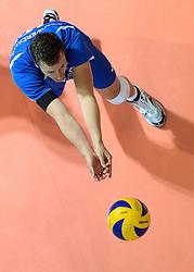 09-06-2013 VOLLEYBAL: WORLD LEAGUE NEDERLANDS - JAPAN: APELDOORN<br /> Nederland wint ook de tweede wedstrijd en verslaat Japan met 3-0 / Jeroen Rauwerdink<br /> ©2013-FotoHoogendoorn.nl