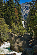 Vernal Falls at Yosemite National Park