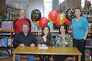 Lafayette High soccer player Andrea Colston signs to play soccer for Northwest Community College, in Oxford, Miss. on Wednesday, January 25, 2012.