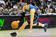 Feb. 13, 2011; Cleveland, OH, USA; Washington Wizards guard Kirk Hinrich (12) during the fourth quarter against the Cleveland Cavaliers at Quicken Loans Arena. The Wizards beat the Cavaliers 107-93 for their first win on the road this season. Mandatory Credit: Jason Miller-US PRESSWIRE