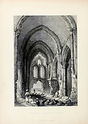 Ruins of the deserted Christian Church at Tortosa [Tartus, Syria] from Volume 2 of Syria, the Holy Land, Asia Minor, &c. by Carne, John, 1789-1844; Illustrated by Bartlett, W. H. (William Henry), 1809-1854, and Allom, Thomas, 1804-1872 Published in London in 1837