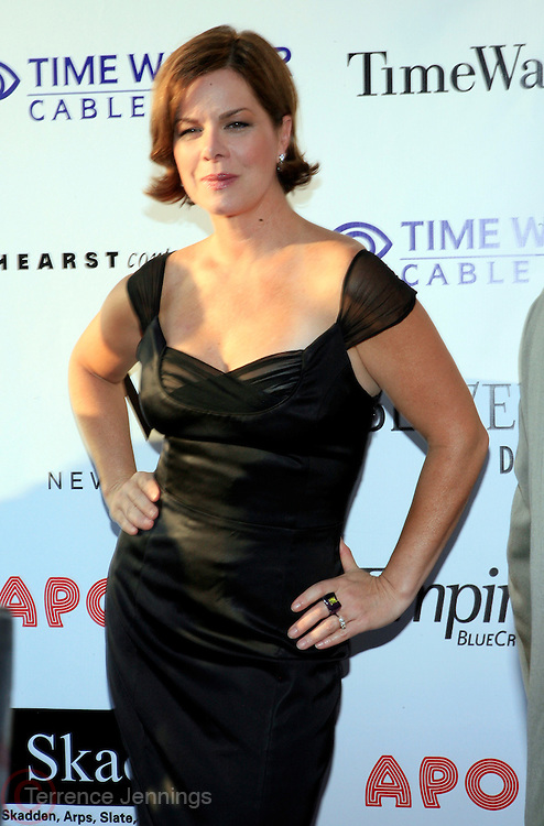 Marcia Gay Harden at The Apollo Theater 4th Annual Hall of Fame Induction Ceremony & Gala held at The Apollo Theater on June 2, 2008
