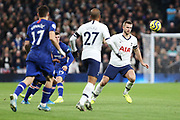 Eric Dier in action during the Premier League match between Tottenham Hotspur and Chelsea at Tottenham Hotspur Stadium, London, United Kingdom on 22 December 2019.