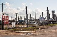 Valero refinery in Manchester Texas.