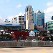 View of Downtown Kansas City Skyline