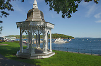 Bar Harbor Village Green Gazeebo, Maine