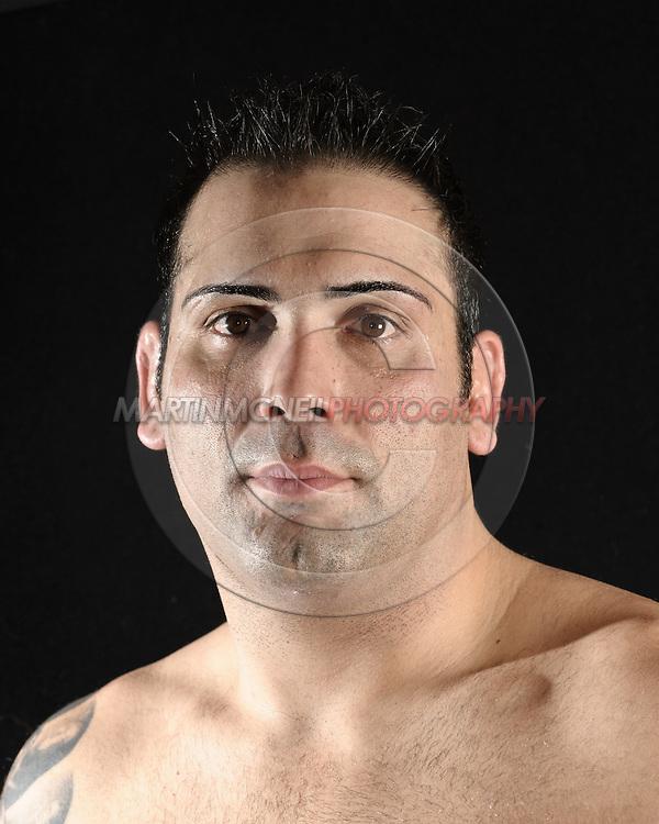 Portrait of mixed martial arts athlete Ricco Rodriguez