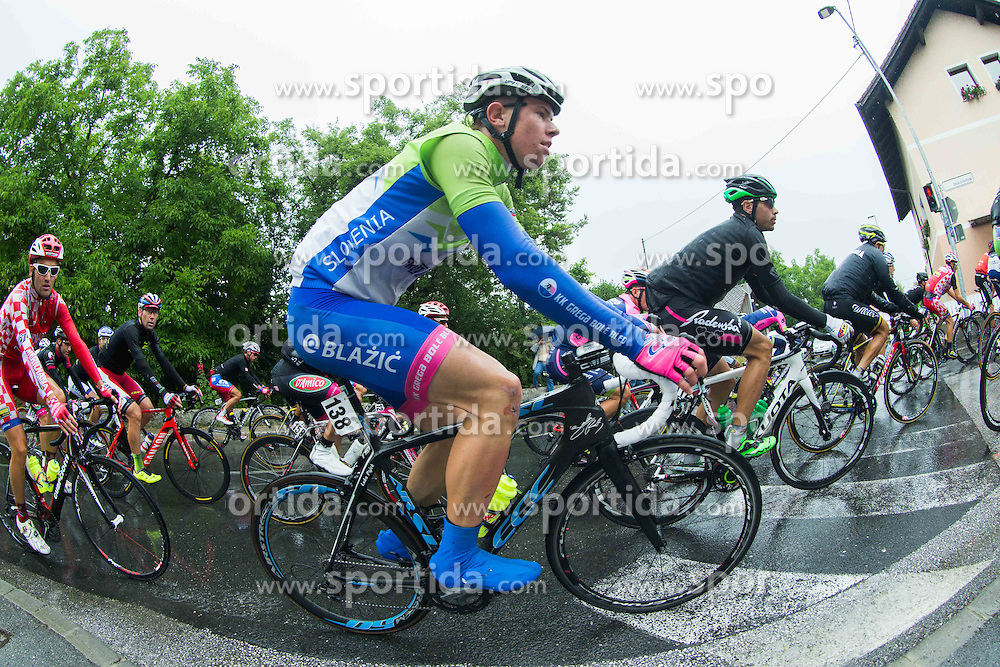 PAJEK Luka of Slovenia during Stage 2 of 22nd Tour of Slovenia 2015 from Skofja Loka to Kocevje (183 km) cycling race on June 19, 2015 in Slovenia. Photo by Vid Ponikvar / Sportida