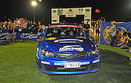 Cody CROCKER & Ben ATKINSON - Subaru  Impreza WRX STI.Offical Start.Red Devil Energy Drink Rally of Queensland.Nambour Show Grounds, Nambour, Sunshine Coast, QLD.8th of May 2009.(C) Joel Strickland Photographics.Use information: This image is intended for Editorial use only (e.g. news or commentary, print or electronic). Any commercial or promotional use requires additional clearance.