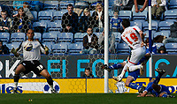 Photo: Steve Bond/Richard Lane Photography. Leicester City v Carlisle United. Coca Cola League One. 04/04/2009. Michael Bridges fires wide