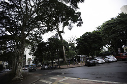 May 24, 2019 - SãO Paulo, Brazil - SÃO PAULO, SP - 24.05.2019: PREFEITURA QUER TRANSFORMAR O AROUCHE - Moving in Largo do Arouche, central region of São Paulo, on the morning of this Friday (24). City Hall wants to transform the place with French inspiration. (Credit Image: © Bruno Rocha/Fotoarena via ZUMA Press)