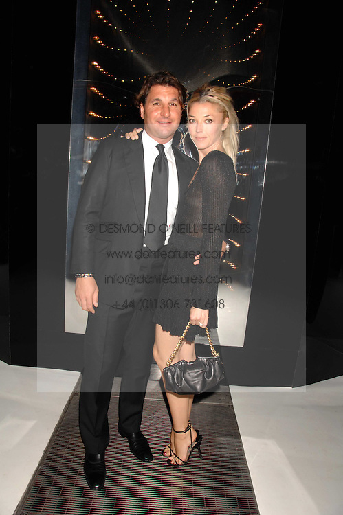 TAMARA BECKWITH and GEORGE VERONI  at a party to celebrate the launch of the new Fiat Bravo held at The Roundhouse Theatre, Chalk Farm Road, London on 13th June 2007.<br />
