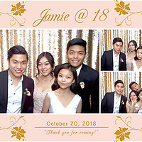 Jamie's 18th Photo Booth
