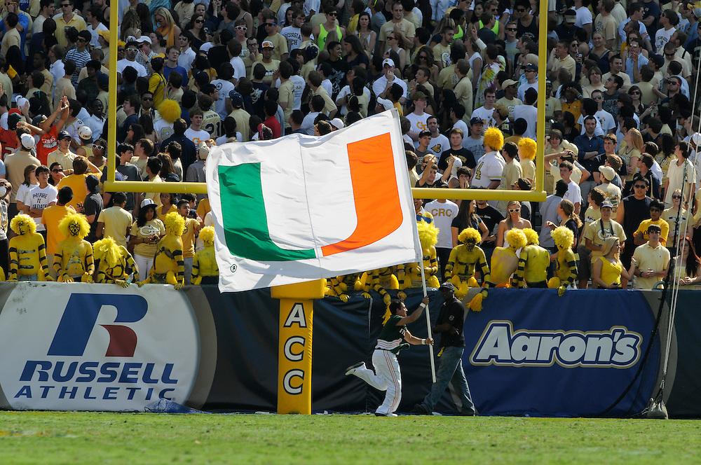 2012 Miami Hurricanes Football @ Georgia Tech