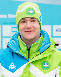 Crt Ikovic during presentation of Team Slovenia for European Youth Olympic Festival - EYOF Brasov 2013 on February 13, 2013 in Bled, Slovenia. (Photo By Vid Ponikvar / Sportida)